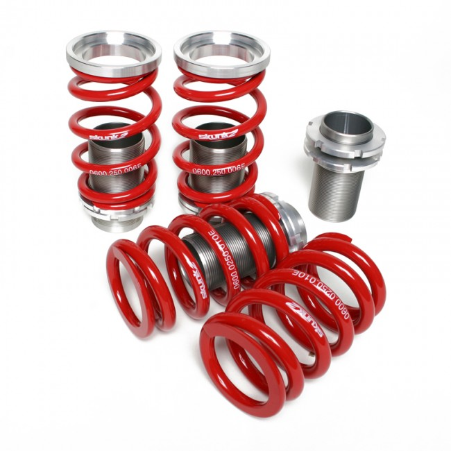 Skunk2 Racing  Adjustable Sleeve Coilovers Red 02-04 Acura RSX