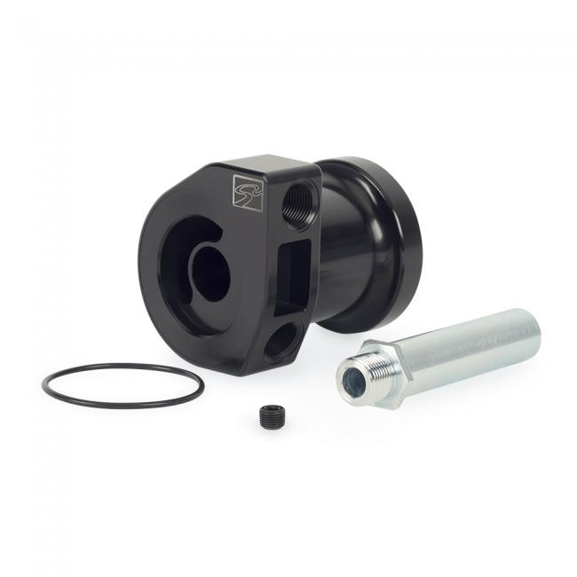 Skunk2 Racing  Billet Aluminum Oil Filter Sandwich Adapter Black 12-19 Subaru BRZ