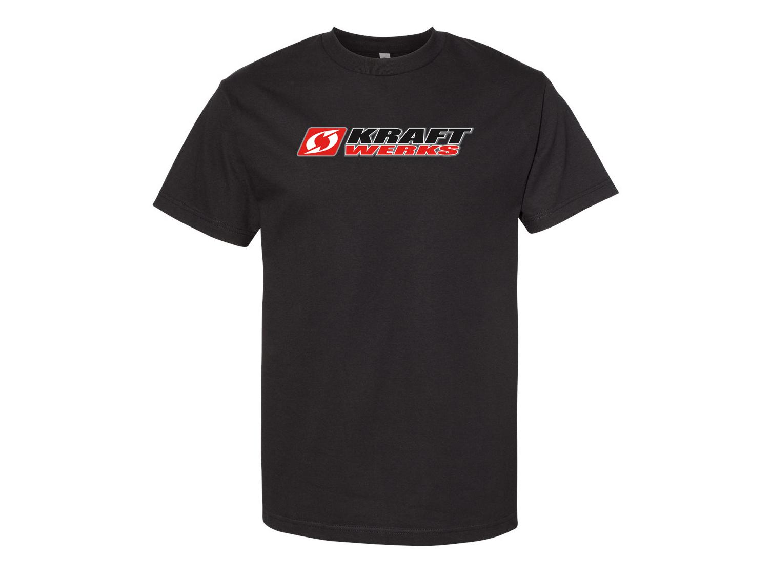 KraftWerks  T-Shirt - XX-Large - Black