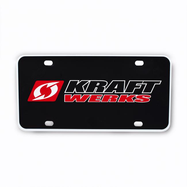 KraftWerks  License Plate Insert