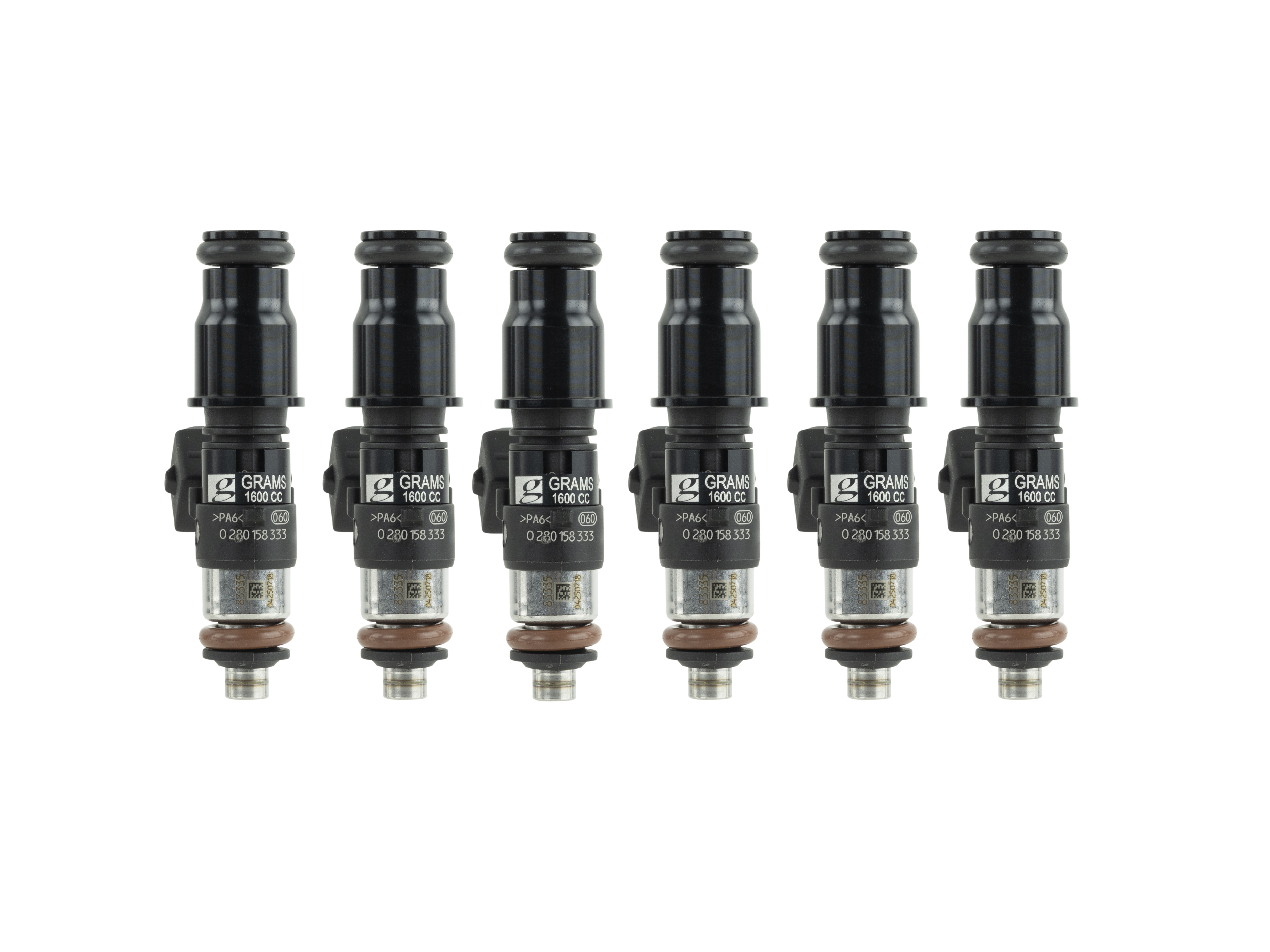 Grams Performance 99-04 Porsche 911 996 3.4L / 05-12 Porsche 911 997 3.6L 1600c 149 lbs/hr Injector Kit G2-1600-1300